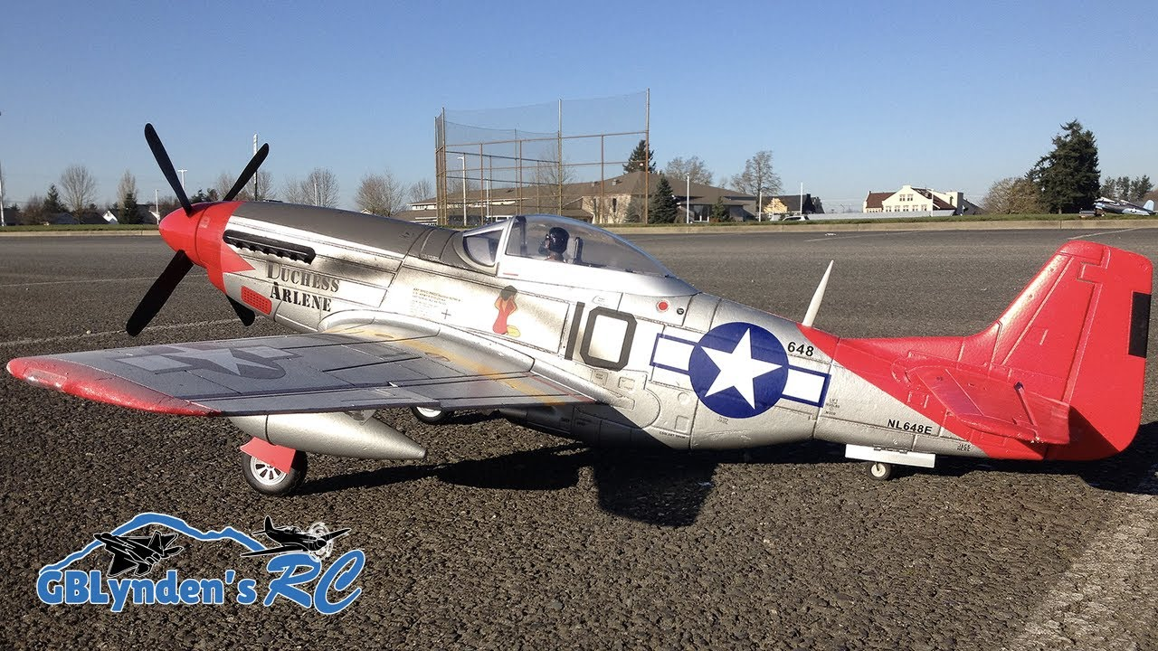 Fms P 51 Mustang 1400mm Tuskegee Airmen Red Tail Wwii