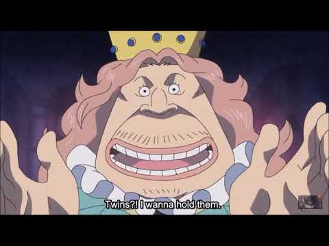 The Time When Bigmom Gave Birth To Chiffon And Lol One Piece
