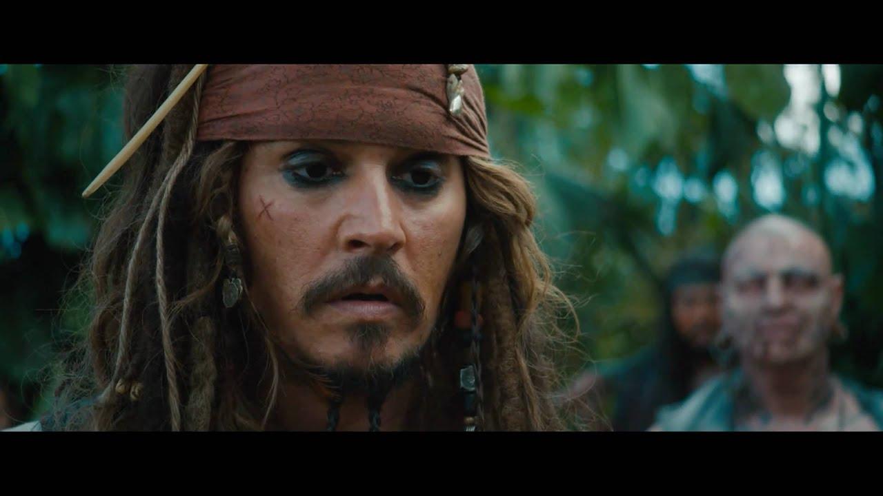 Jack Sparrow Presentando Piratas Del Caribe Navegando Aguas Misteriosas Oficial Hd