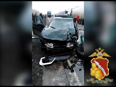 ДТП с пятью погибшими в Воронежской области