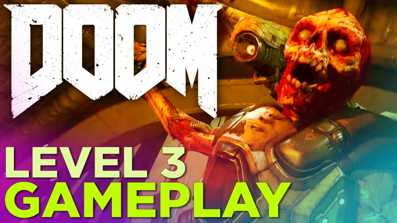 Doom Gameplay Level 3 Meltdown Youtube