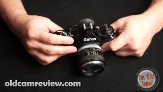"""A Review Of The Canon EF """"Black Beauty"""" 35mm SLR"""