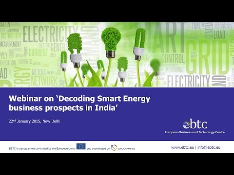 Webinar on 'Decoding Smart Energy business prospects in India'