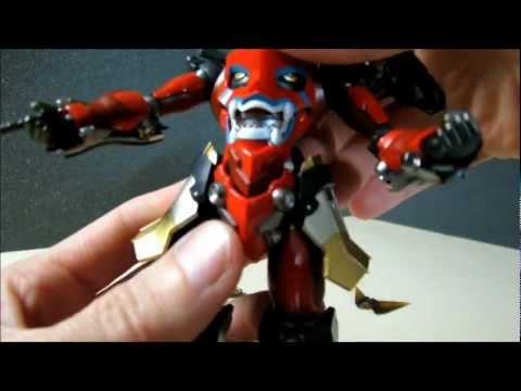 Rio Bone and Gurren Lagann toy review