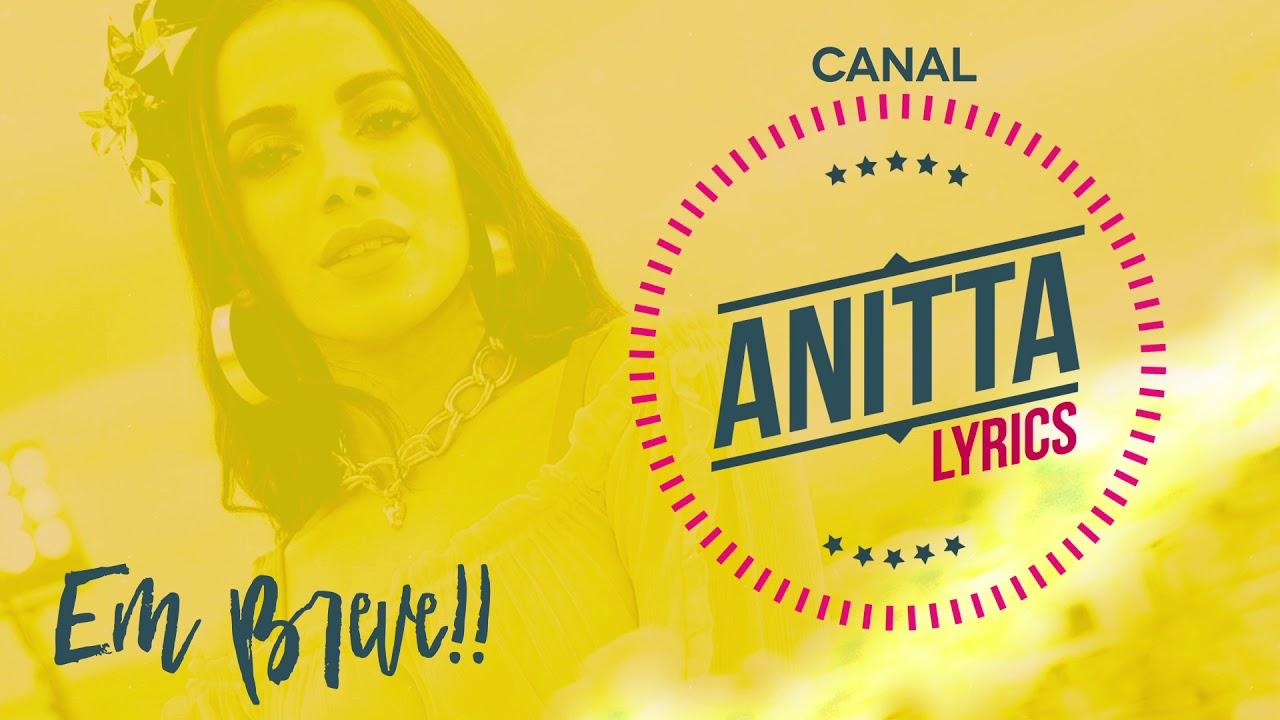 CANAL sobre a ANITTA?