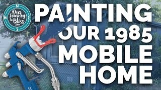 PAINTING A MOBILE HOME  |  Tips & Advice We Learned!