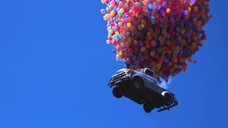 Balloon Boy - Boy Makes Flying Car using Balloons - BYU Independent Study