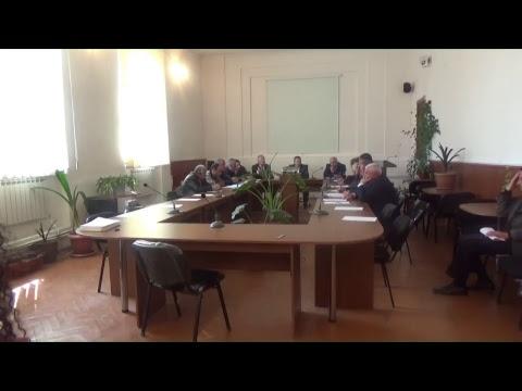 Ավագանու արտահերթ նիստ - 11.04.2018