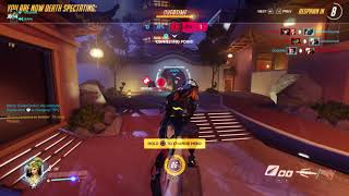 Overwatch | PS4 | Comp | Master Mercy Gameplay - Tough comeback Part 1