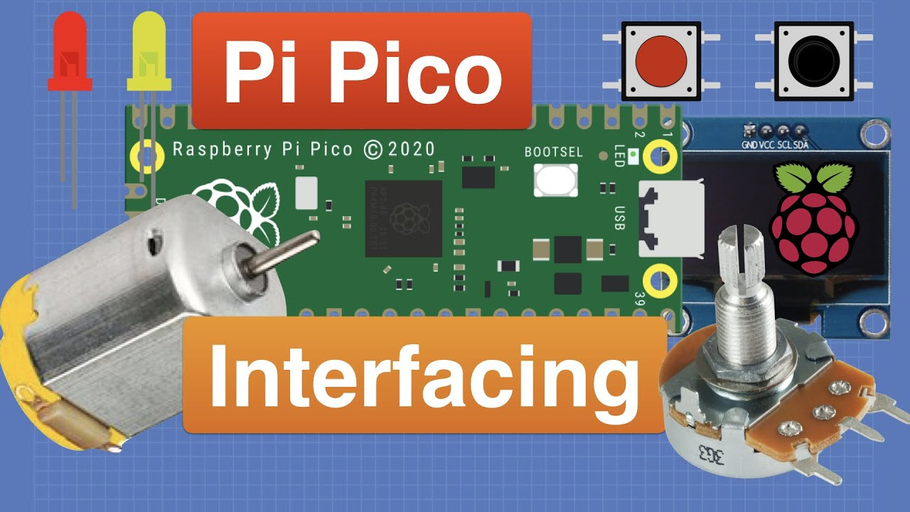 Raspberry Pi Pico - Control the (I/O) World