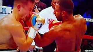 Golovkin vs Brook post fight