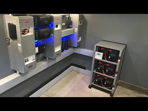 Off grid power with lithium batteries