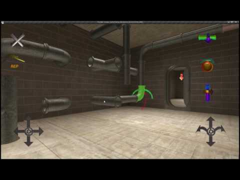 Plumber. Escape. 3D.