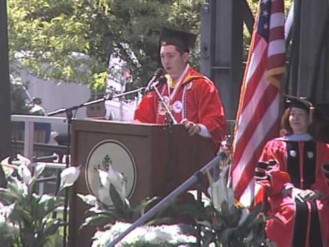 Student Address - St. John's University Staten Island Commencement 2012