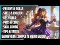 New Hero Guinevere Complete Guide! Best Build, Spells, Skill Combo, Tips & Tricks   Mobile Legends