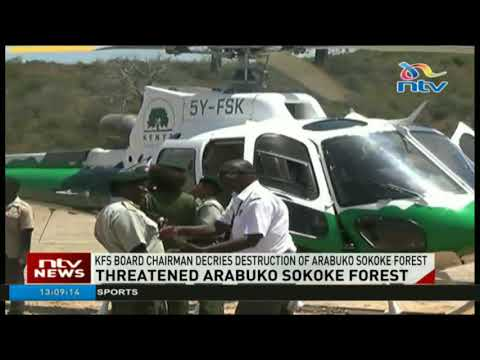 KFS board chairman decries destruction of Arabuko Sokoke forest