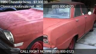 1964 Chevrolet Nova  for sale in Nationwide, NC 27603 at Cla #VNclassics
