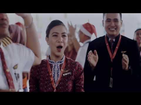 Lion Air Group Gemu Fa Mi Re / Maumere Dance ~ Pramugari/Flight Attendant, Pilot & Crew