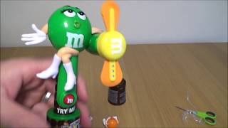 M&M's Chocolate Candy Light Up Fan and Bounce Toys