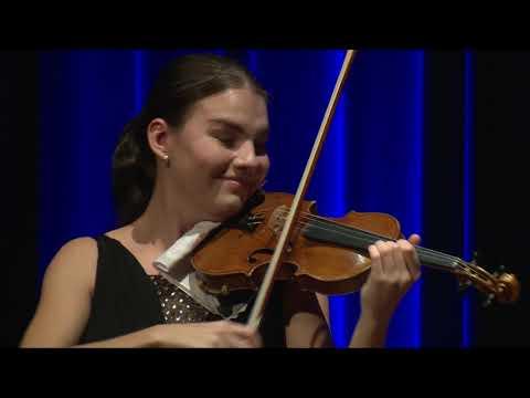 Olga Šroubková | Joseph Joachim Violin Competition Hannover 2018 | Preliminary Round 2