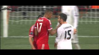 Franck Ribery Slaps face Carvajal