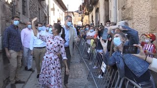 Los Reyes reciben el calor de la gente en Soria y Vinuesa