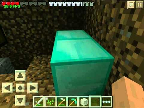 как в minecraft pe 0.14.0 получить алмазы #2