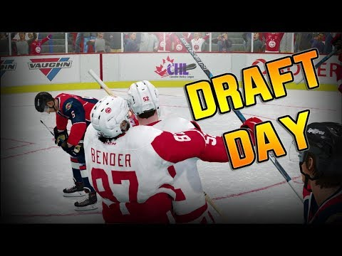 DRAFT DAY - NHL 18 - Be A Pro Ep. 2