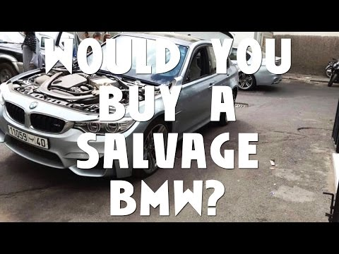 Would You Buy A Salvage BMW E92 M3?