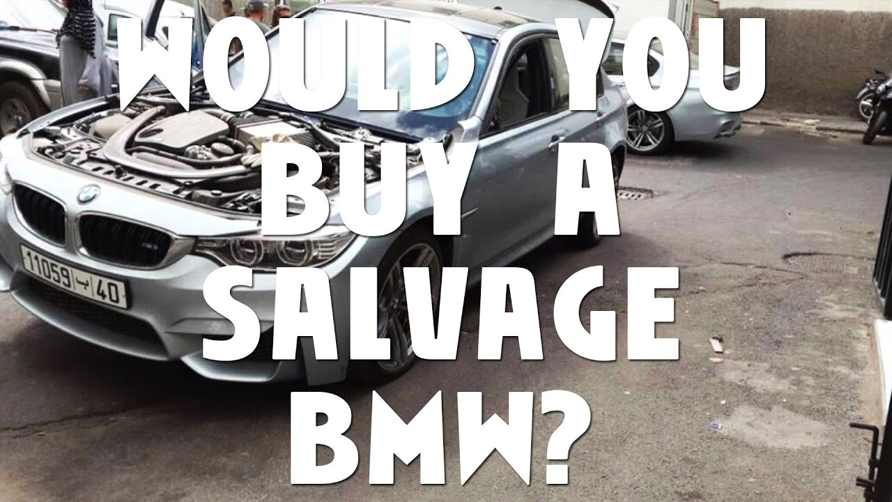 Would You Buy A Salvage BMW E92 M3? - YouTube