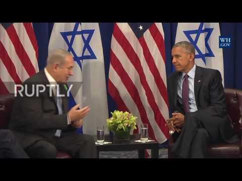 USA: Netanyahu Thanks Obama For $38 Billion Military Aid Package