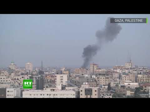 Des roquettes dans le ciel de Gaza