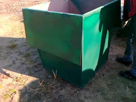 Контейнер для мусора 0,75 м. куб. продам в Киеве 0635680834