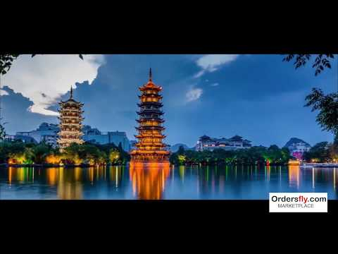 East or West, China Guilin Guangxi Landscapes At Its Best