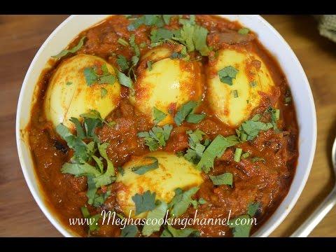 Egg Masala   Egg Curry   Anda Masala – Megha Govindaraj – Megha's Cooking Channel – Episode 36