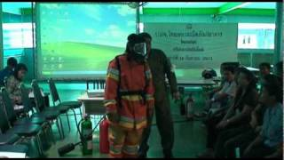 Occupational Health and Safety SCBA Bangpoo city Training Wisutchai 027.flv
