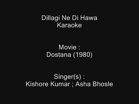 Dillagi Ne Di Hawa - Karaoke - Dostana (1980) - Kishore Kumar ; Asha Bhosle