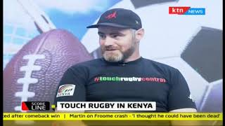 Scoreline: Touch rugby in Kenya