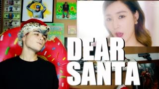 Girls' Generation - TTS - Dear Santa MV Reaction [Korean & English]