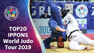 Top 20 Ippons - World Judo Tour 2019