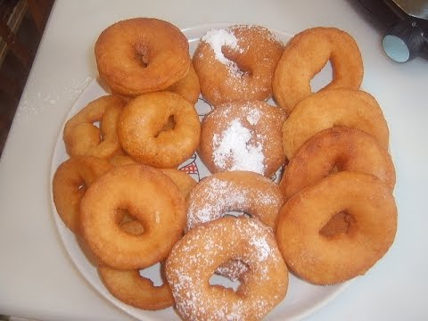 Сдобные пончики