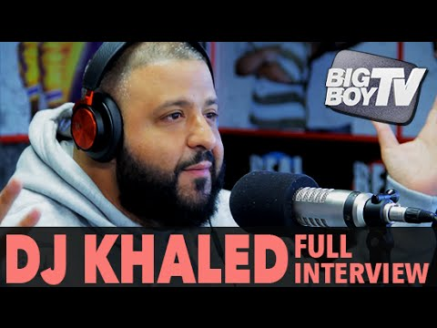 DJ Khaled on Snapchat, Getting Tickets on Jet-Skis, And More! (Full Interview) | BigBoyTV