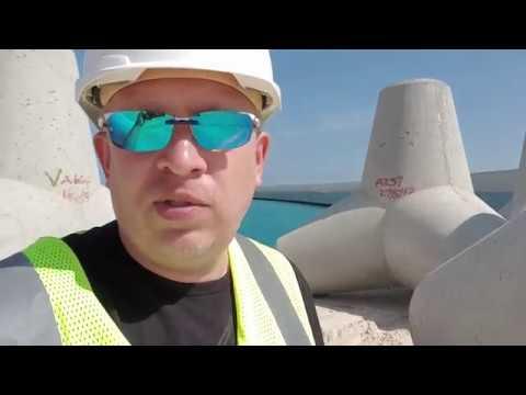 Строительство проекта Марины Айя Напы на Кипре. Назаров и Партнеры на площадке
