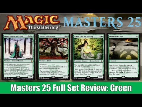 MTG Masters 25 Limited Set Review: Green