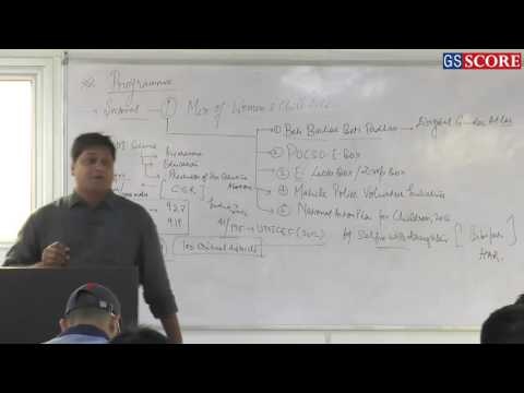 Discussion on Woman & Child Development Programs - Current Affairs Classes by Ashutosh Pandey