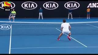 Roger Federer - The Skyhook Smashes