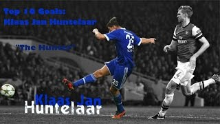 "Top 5 goals - Klaas Jan ""The Hunter"" Huntelaar"