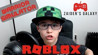 ROBLOX GAMES WARRIOR SIMULATOR - GOING ALL SAMURAI TODAY