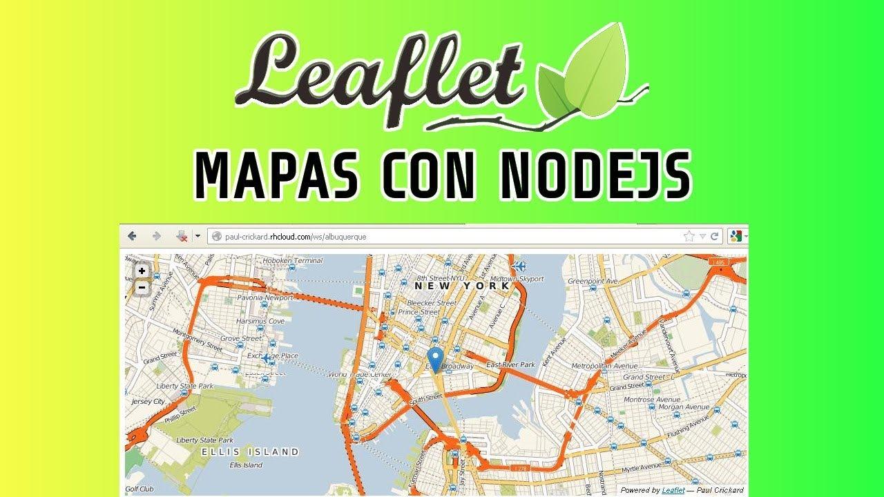 Leaflet y Nodejs   Mapas en Tiempo Real con Nodejs