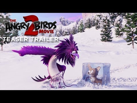 THE ANGRY BIRDS MOVIE 2 - Official Teaser Trailer | In Cinemas This August